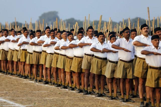 Le groupe «Sikhs For Justice»compare le mouvement Rashtriya... (Photo: Reuters)
