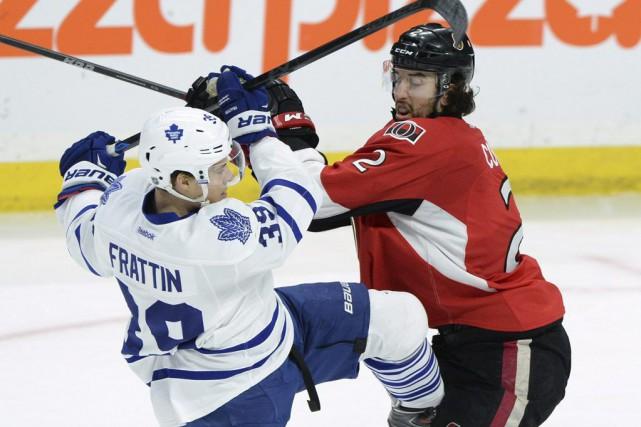 Erik Karlsson a inscrit deux buts et il a aidé les Sénateurs d'Ottawa à battre... (Photo PC)