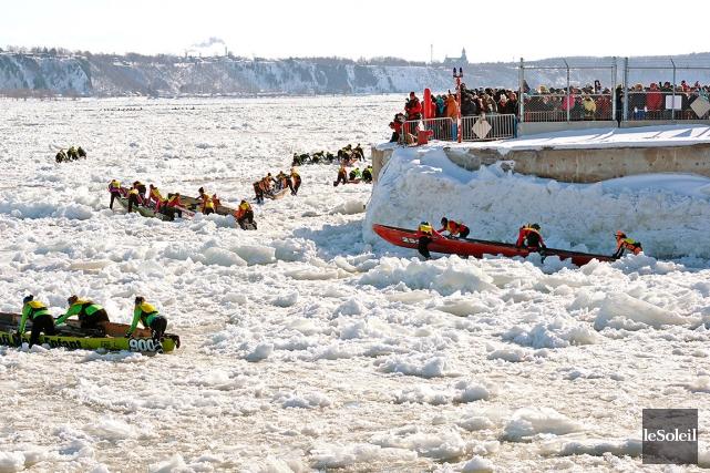 La Coupe des glaces comptera cette année sept... (Photothèque Le Soleil, Erick Labbé)