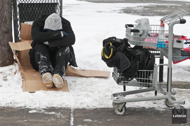Les sans-abri de Gatineau viennent de nous servir un coup de gueule inattendu,... (Patrick Woodbury, Archives LeDroit)