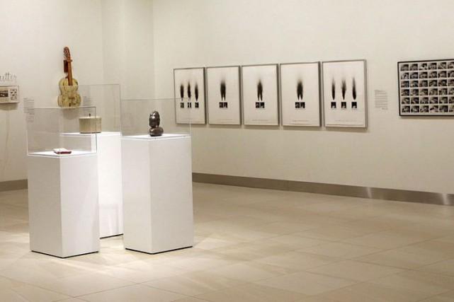 L'exposition présente 24 oeuvres.... (Étienne Ranger, LeDroit)