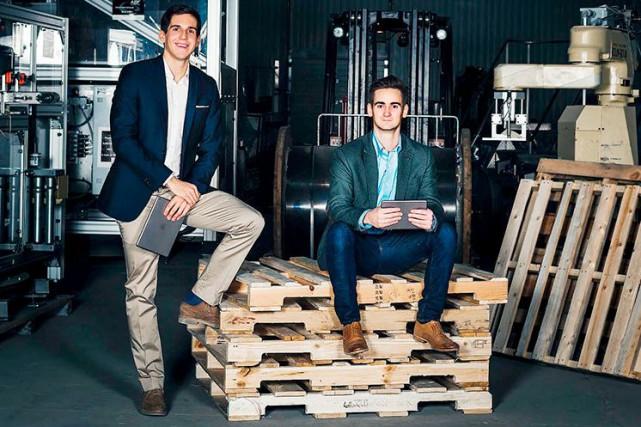 Antoine Bisson et Alexandre Leclerc, les fondateurs de... (Photo fournie par Poka)