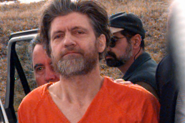 Theodore Kaczynski, dit Unabomber.... (Photo: Elaine Thompson, Archives AP)