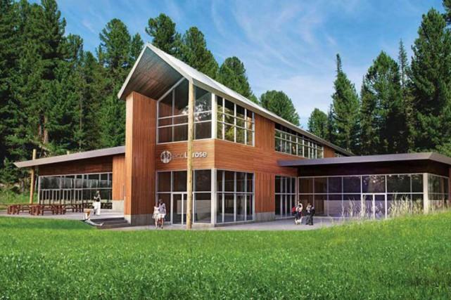 Le projet écoLarose prévoit l'aménagement d'un établissement dernier... (Courtoisie)