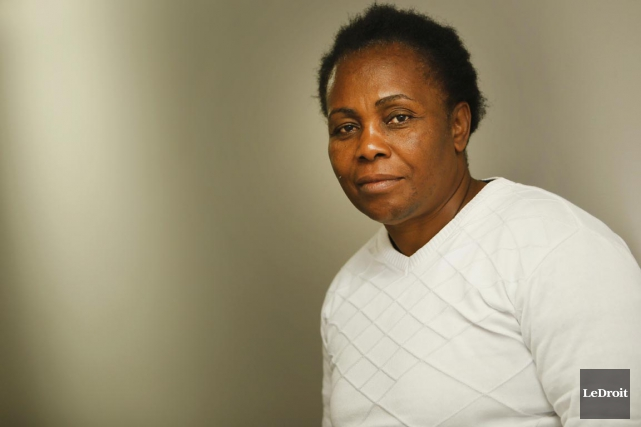 La militante congolaise des droits des femmes Julienne... (PHOTO SIMON SÉGUIN-BERTRAND, LE DROIT)