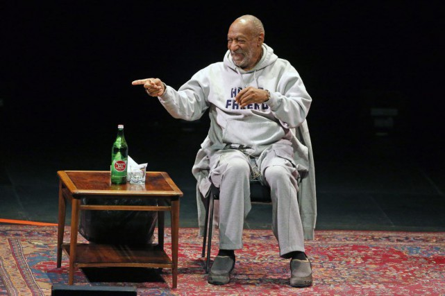 Bill Cosby au Buell Theater de Denver, samedi... (Photo Brennan Linsley, Archives AP)