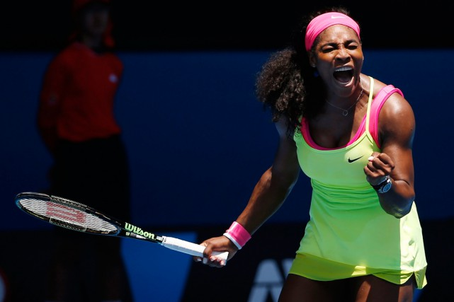 La numéro 1 mondiale Serena Williams a remporté 10... (Photo Vincent Thian, AP)