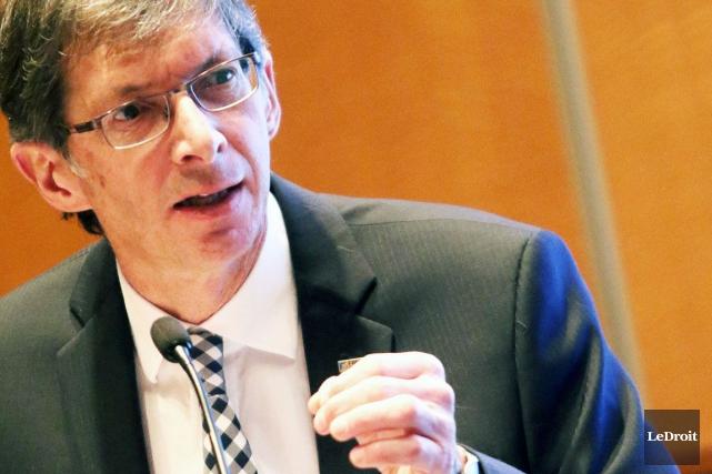 Gaétan Morin, président et chef de la direction... (Patrick Woodbury, LeDroit)
