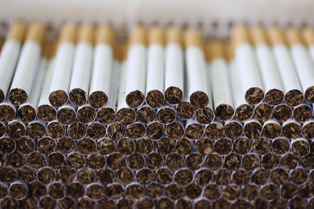 La Coalition québécoise pour le contrôle du tabac invite de nouveau le... (PHOTO CHRIS RATCLIFFE, BLOOMBERG)