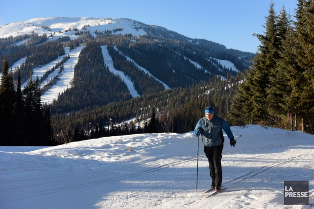 Le centre de ski de fond de Sun... (Photo Bernard Brault, La Presse)