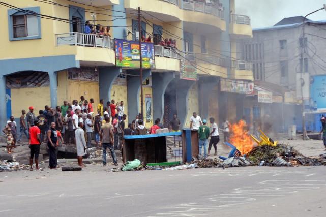 Le Sénat de la République démocratique du Congo... (PHOTO PAPY MULONGO, ARHCIVES AFP)