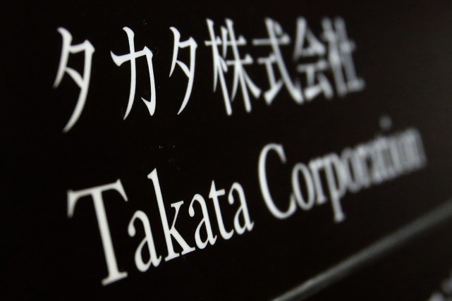 Un cadre de l'équipementier automobile japonais Takata a été inculpé jeudi pour... (Photo archives Reuters)
