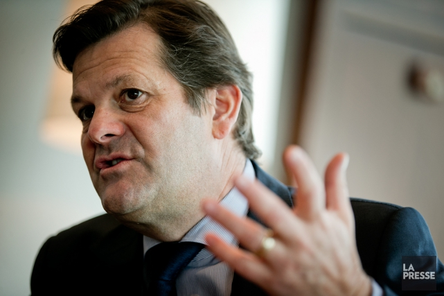 L'ex-PDG de Bombardier, Pierre Beaudoin.... (Photo Marco Campanozzi, archives La Presse)
