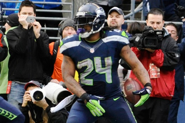Marshawn Lynch... (Photo Steven Bisig, USA Today Sports)