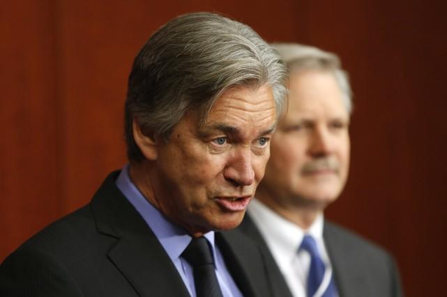 L'ambassadeur canadien aux États-Unis, Gary Doer... (Photo Jonathan Ernst , Reuters)