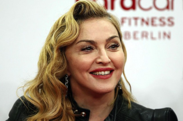 Madonna... (Photo: archives AP)