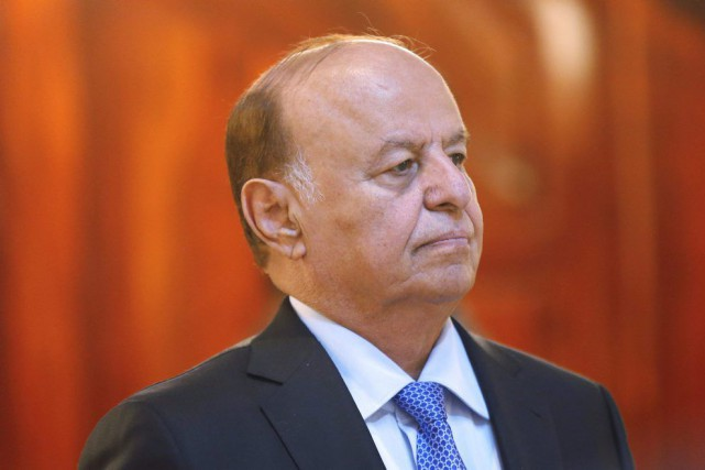 Abd Rabbo Mansour Hadi a présenté sa «démission du... (Photo Khaled Abdullah, Archives REUTERS)