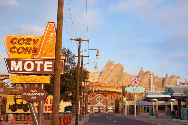 Disneyland cultive un côté rétro. Le parc a... (Photo Paul Hiffmeyer, Archives Reuters)