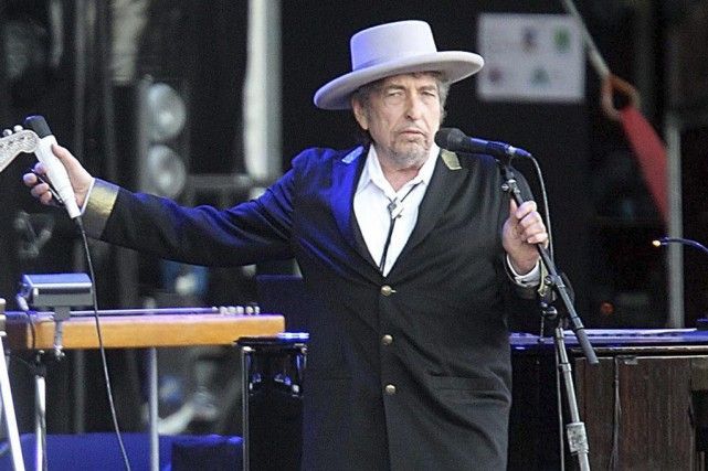 Bob Dylan... (PHOTO ARCHIVES AP)