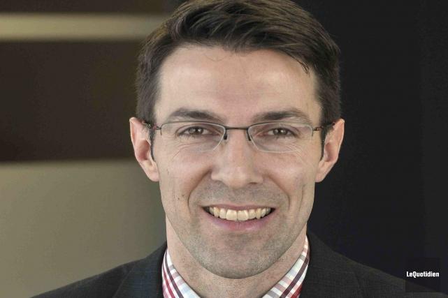 Directeur du centre d'affaires de la Banque de... (Photo Le Quotidien, Rocket Lavoie)