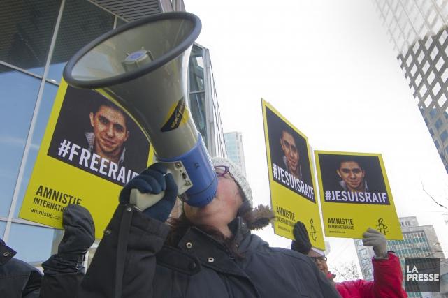 Une nouvelle manifestation a eu lieu jeudi à... (PHOTO IVANOH DEMERS, LA PRESSE)
