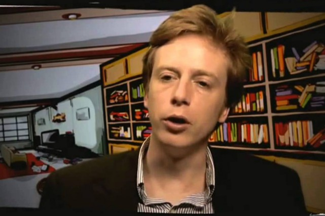 Barrett Brown... (Photo archives)