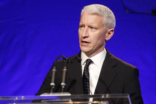 Lundi, le journaliste de CNN Anderson Cooper a... (Photo AP)