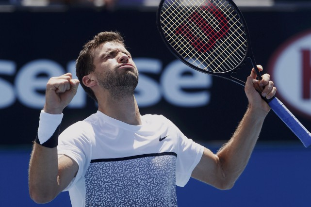 Le Bulgare Grigor Dimitrov... (PHOTO BRANDON MALONE, REUTERS)