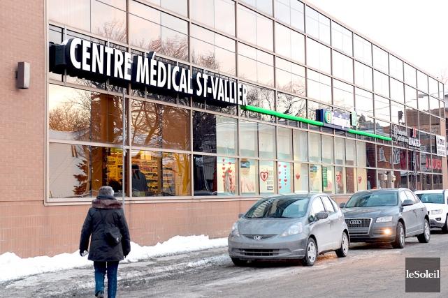 La clinique Saint-Vallier... (Le Soleil, Erick Labbé)