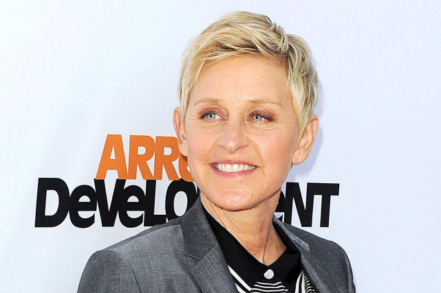 Ellen DeGeneres... (Photo AP, Katy Winn)