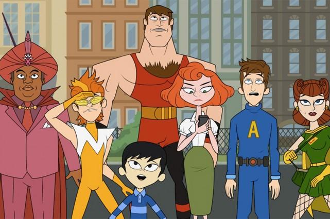 La populaire série d'animation américaineLes Awesomescréée par Seth... (PHOTO FOURNIE PAR LA PRODUCTION)