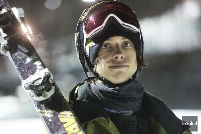 La skieur acrobatique Alex Bellemare a obtenu une... (Photothèque Le Soleil)