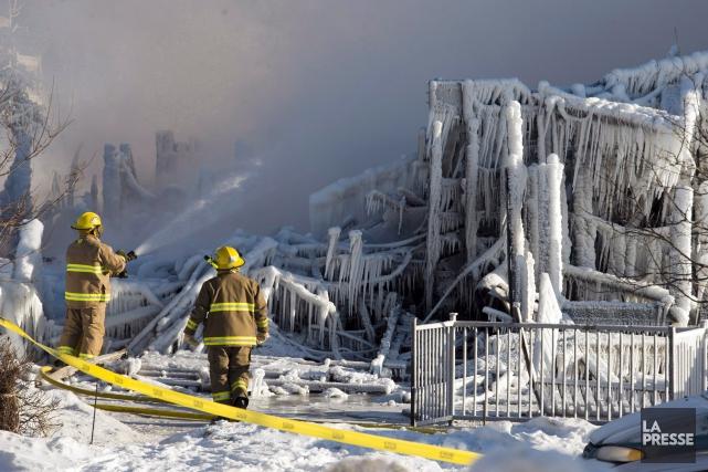 Un an après la tragédie de L'Isle-Verte, les services d'incendie de plusieurs... (Archives La Presse)