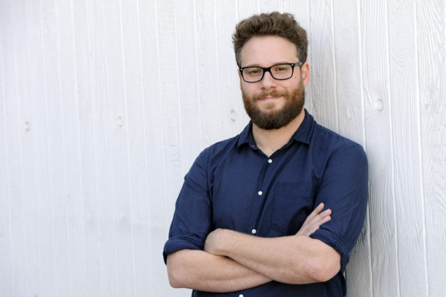 Seth Rogen, déjà au coeur d'un scandale en raison... (PHOTO CHRIS PIZZELLO, AP)
