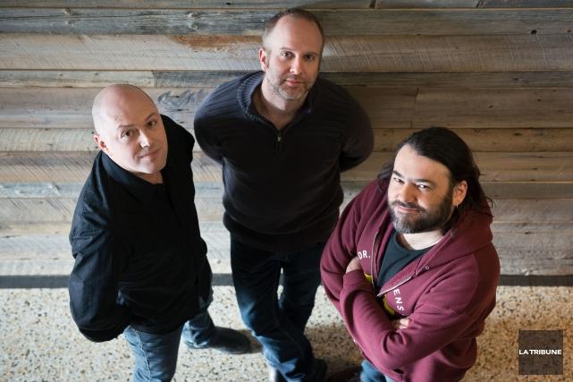 GlennLévesque, Sébastien Dufour et Marc Morin, alias le... (Imacom, Jessica Garneau)