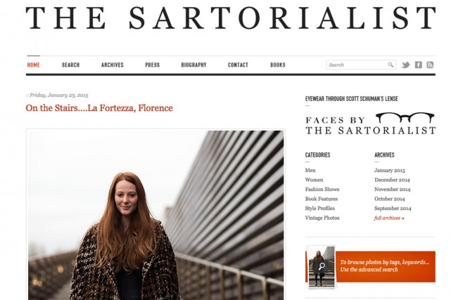 L'un des plus célèbres reste Scott Schuman dont... (Photo tirée du site web The Sartorialist)