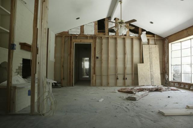 Votre projet de rénovation tourne mal et vous... (Photo Digital/Thinkstock)