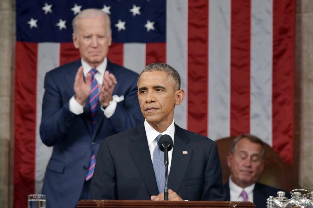 Le président Barack Obama a discouru devant le... (PHOTO MANDEL NGAN, ARCHIVES AFP)