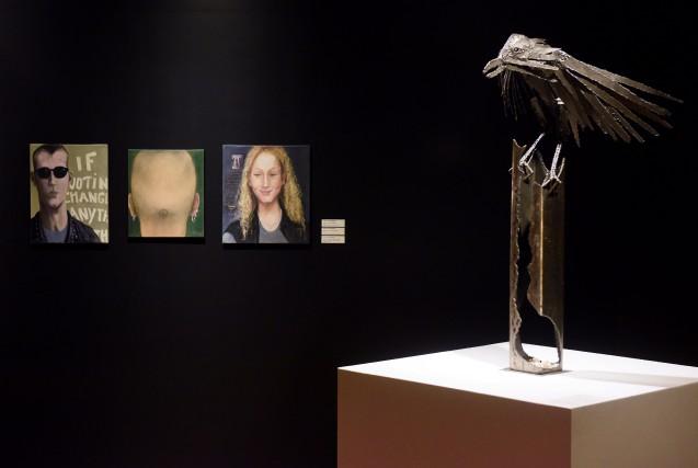 L'exposition Entre ciel et terre présentée au Centre... (Photo: François Gervais)