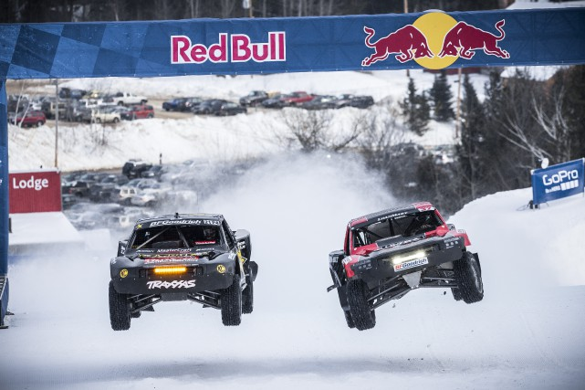 Rob MacCachren (à gauche) et R.J. Anderson sont... (Photo fournie par Red Bull)