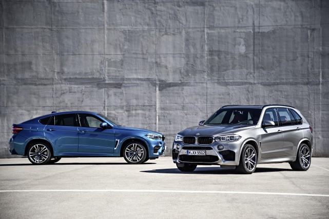 Les BMW X5 et X6 M... (Photo fournie par BMW)