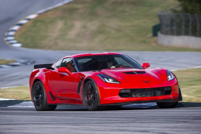 La Chevrolet Corvette Z06... (Photo fournie par General Motors)