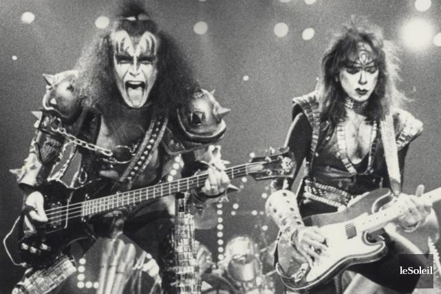 Dans les années 80, le groupe KISS s'est... (Photothèque Le Soleil, Jean-Marie Villeneuve)