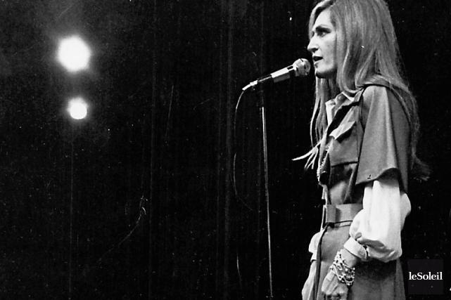 Lors d'un spectacle dans la capitale en 1978,... (Photothèque Le Soleil, Jean-Marie Villeneuve)