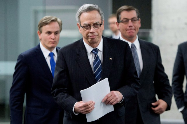 Le ministre des Finances du Canada, Joe Oliver... (Photo Sean Kilpatrick, La Presse Canadienne)