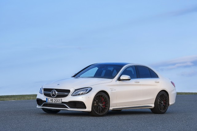 La Mercedes C63 AMG... (Photo fournie par Mercedes-Benz)