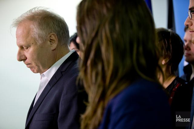 Le départ de Jean-François Lisée laisse cinq candidats... (PHOTO DAVID BOILY, LA PRESSE)