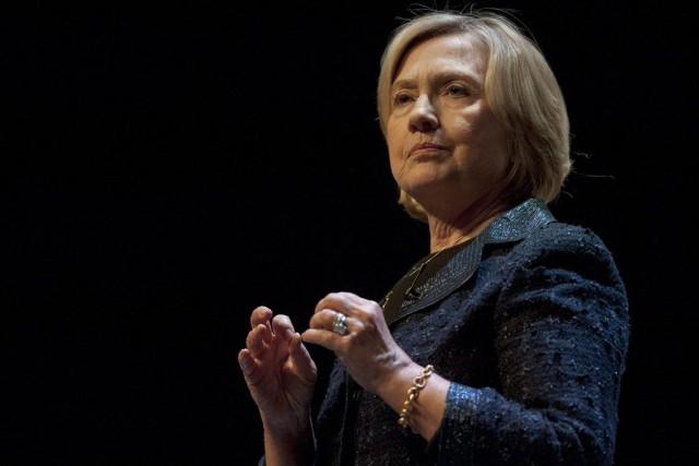 Hillary Clinton... (PHOTO LIAM RICHARDS, PC)