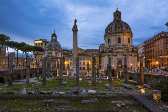 La ville de Rome offre quantité d'illustres sites... (Photo Digital/Thinkstock)