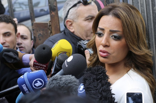 La fiancée de Mohamed Fahmy... (PHOTO ASMAA WAGUIH, ARCHIVES REUTERS)